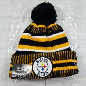 NFL Steelers knit beanie toboggan